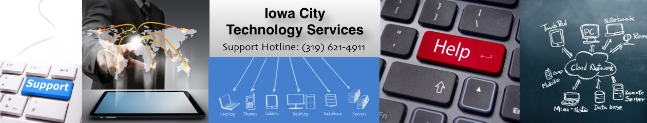 Iowa City Technology Services | Call 319-621-4911