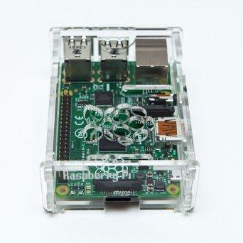 Raspberry Pi Model B+ Plus Transparent Acrylic Case Enclosure Computer BOX