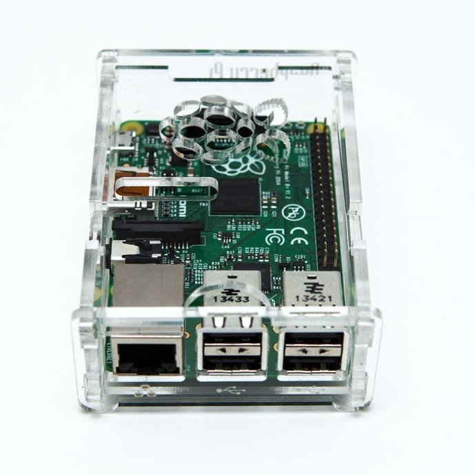 Raspberry Pi Model B+ Plus Transparent Acrylic Case Enclosure Computer BOX