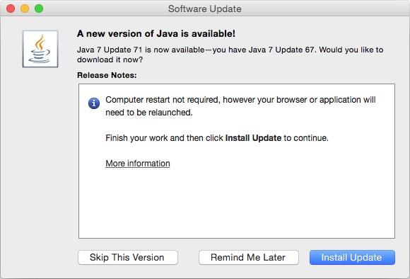 How to Install Java in OS X Yosemite