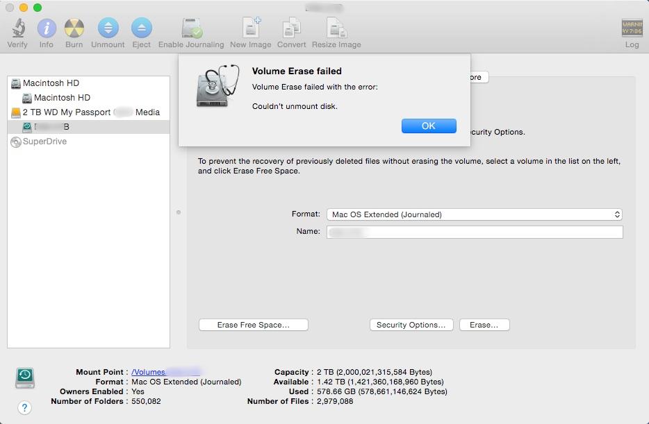 Apple Time Machine Backup Failure – Iowa City Technology