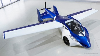 AeroMobil - Above Front