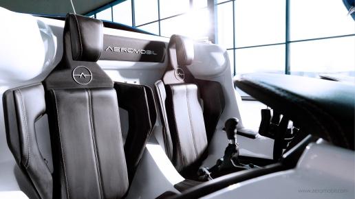 AeroMobil - Inside Cab