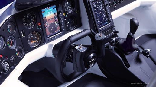 AeroMobil - Cockpit