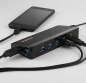 USB Hub - Fast Charge Ports