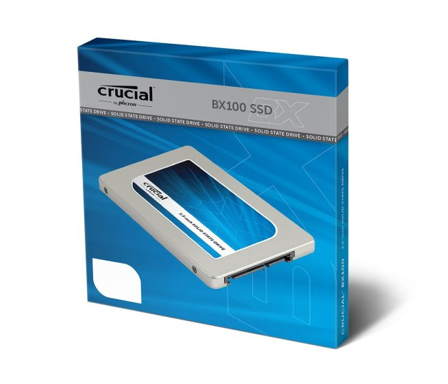 Crucial SSD - Box Front
