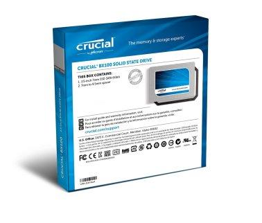 Crucial SSD - Box Back