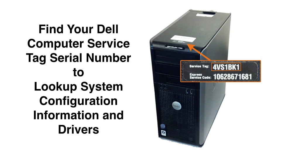 dell service tag serial number