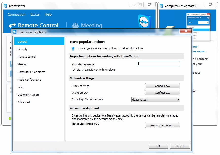 Disable TeamViewer at Startup on Windows or Apple Mac