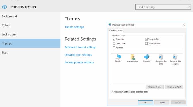 Windows 10 Show My Computer Icon On Desktop Iowa City