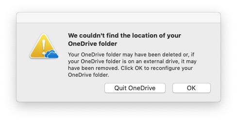 Microsoft OneDrive Update for Apple Mac Loading Finder Repeatedly